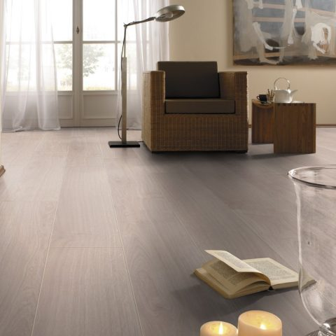 Roble Waveless White KRONOTEX Exquisit D2873