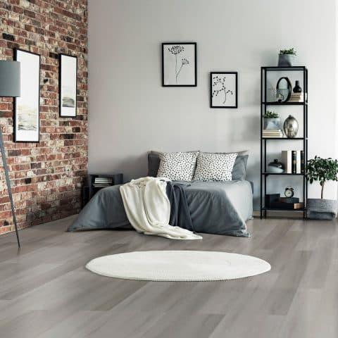 Suelo Vinílico V-LINE Living Plus HD Grey Beach 801