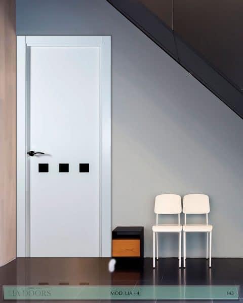 Puerta lacada en block Ciega BL Modelo 4