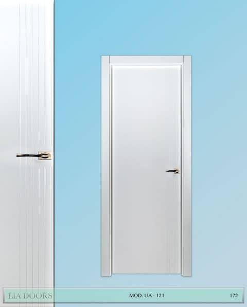 Puerta lacada Diseño Grupo A en block Ciega BL Modelo 121