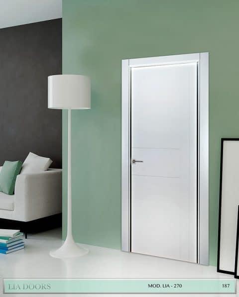 Puerta lacada Diseño Grupo A en block Ciega BL Modelo 270