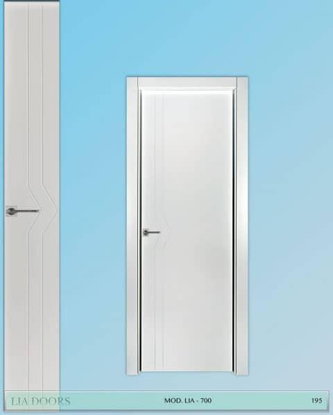 Puerta lacada Diseño Grupo A en block Ciega BL Modelo 700