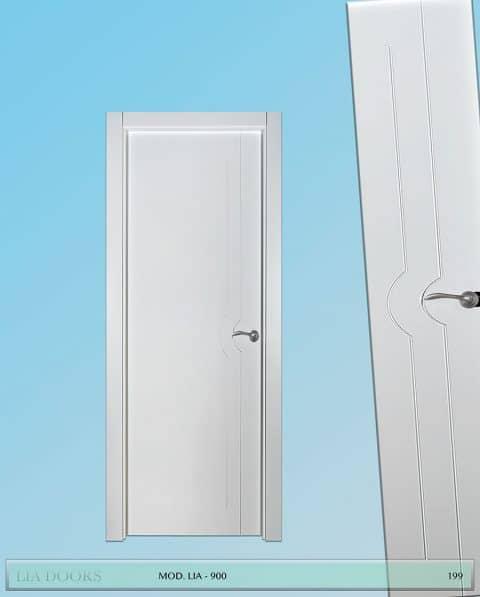 Puerta lacada Diseño Grupo A en block Ciega BL Modelo 900