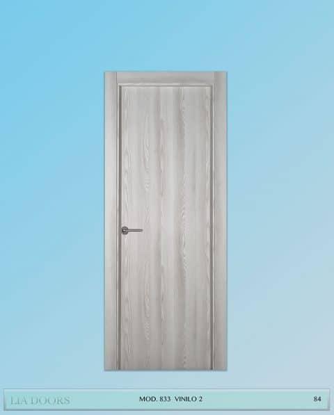 Puerta de Vinilo en block Ciega BL Modelo 833