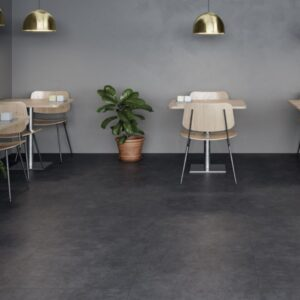 Suelo Laminado FAUS Industry Tiles Concrete Negro S180093