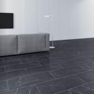 Suelo Laminado FAUS Industry Tiles Marmol Negro S180239