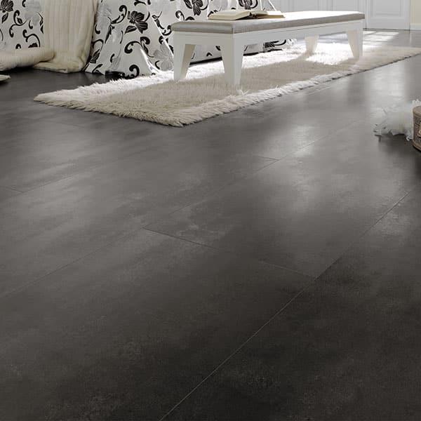 Suelo Laminado FAUS Industry Tiles Óxido Negro S172074