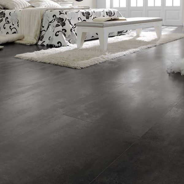 Suelo Laminado FAUS Industry Tiles Óxido Negro Bevel S176546