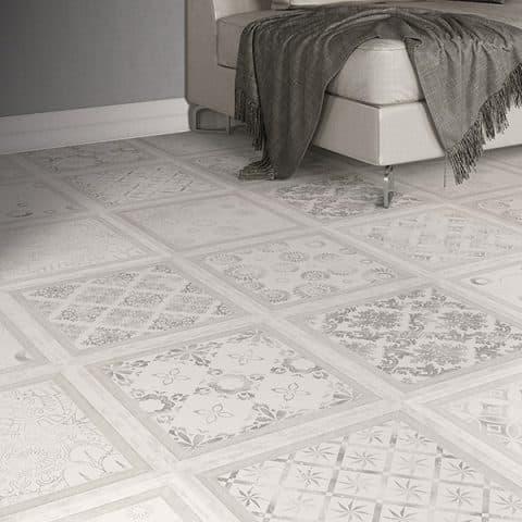 Suelo Laminado FAUS Retro Vintage Tile S177215