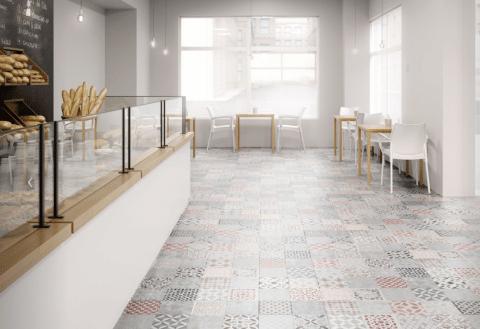 Suelo Laminado FAUS Retro Mosaic Tile S180147