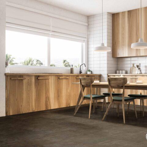 Suelo Vinílico V-LINE Living Plus HD Aged Grey 527