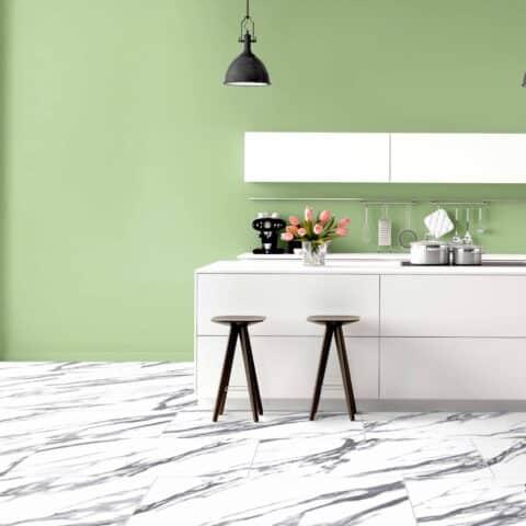 Suelo Vinílico V-LINE Living Plus HD White Marble 530