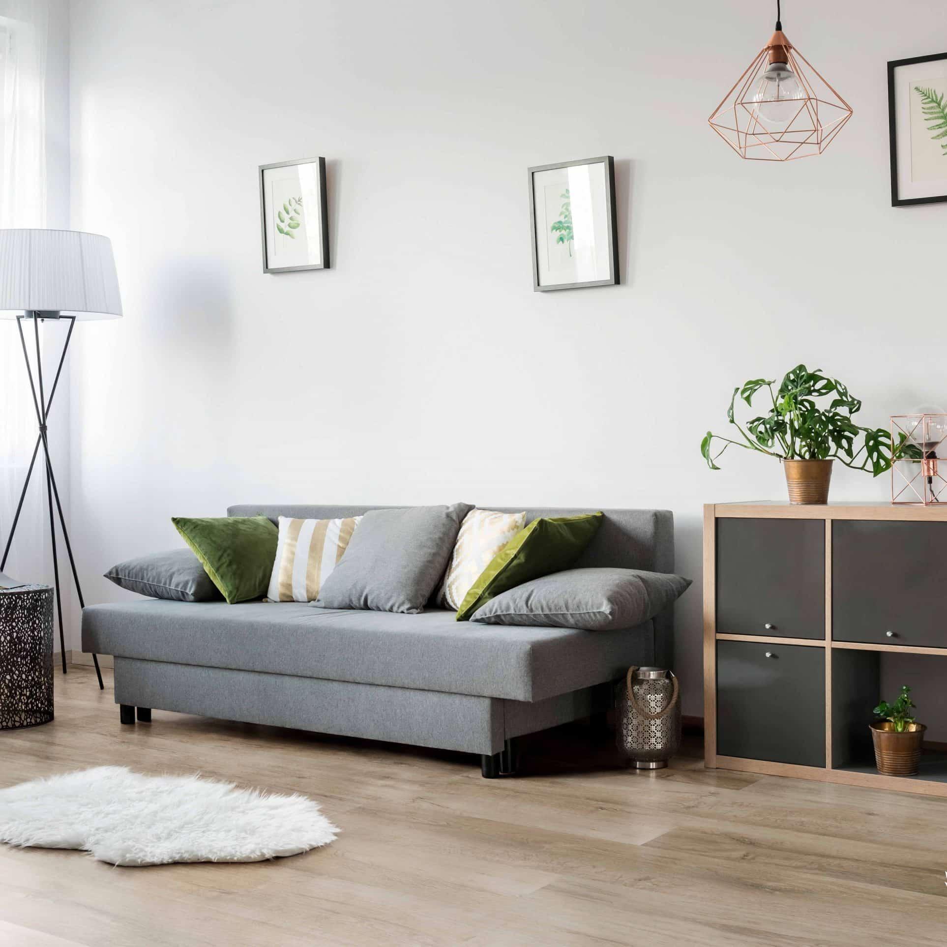 Suelo Vinílico V-LINE Living Plus HD Washed Oak 802