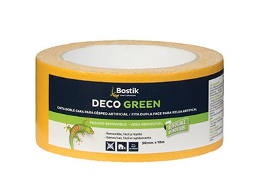Cinta doble cara Bostik Deco Green