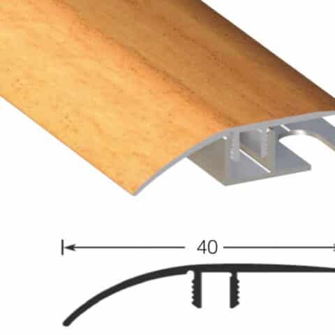 Perfil Transición Rigid Adhesivo INOX ELEMENTAL PTER