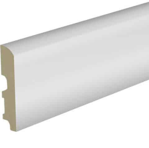 Rodapie Lacado Blanco ESSENZ-Parquet 90mm REPLCB